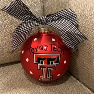 Coton Colors Texas Tech Christmas Ornament